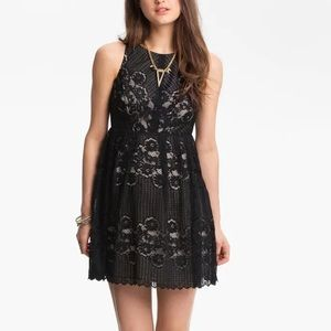 Free People   Rocco Lace Cut Out Dress